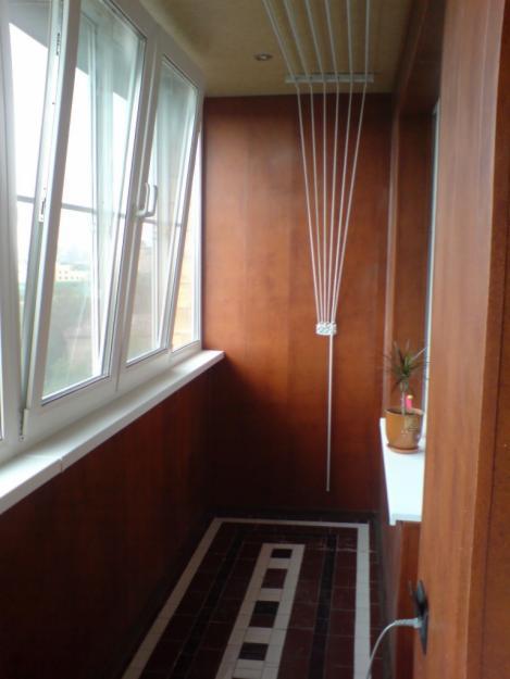 Отделка, обшивка и остекление балконов и лоджий.