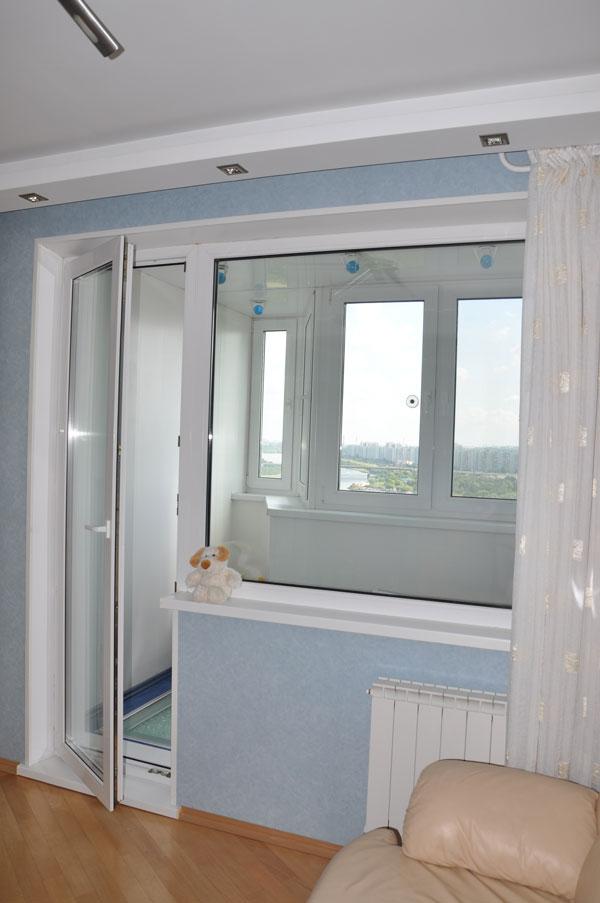 Двери на балкон цена.